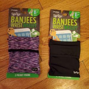 Banjees Wrist Wallets